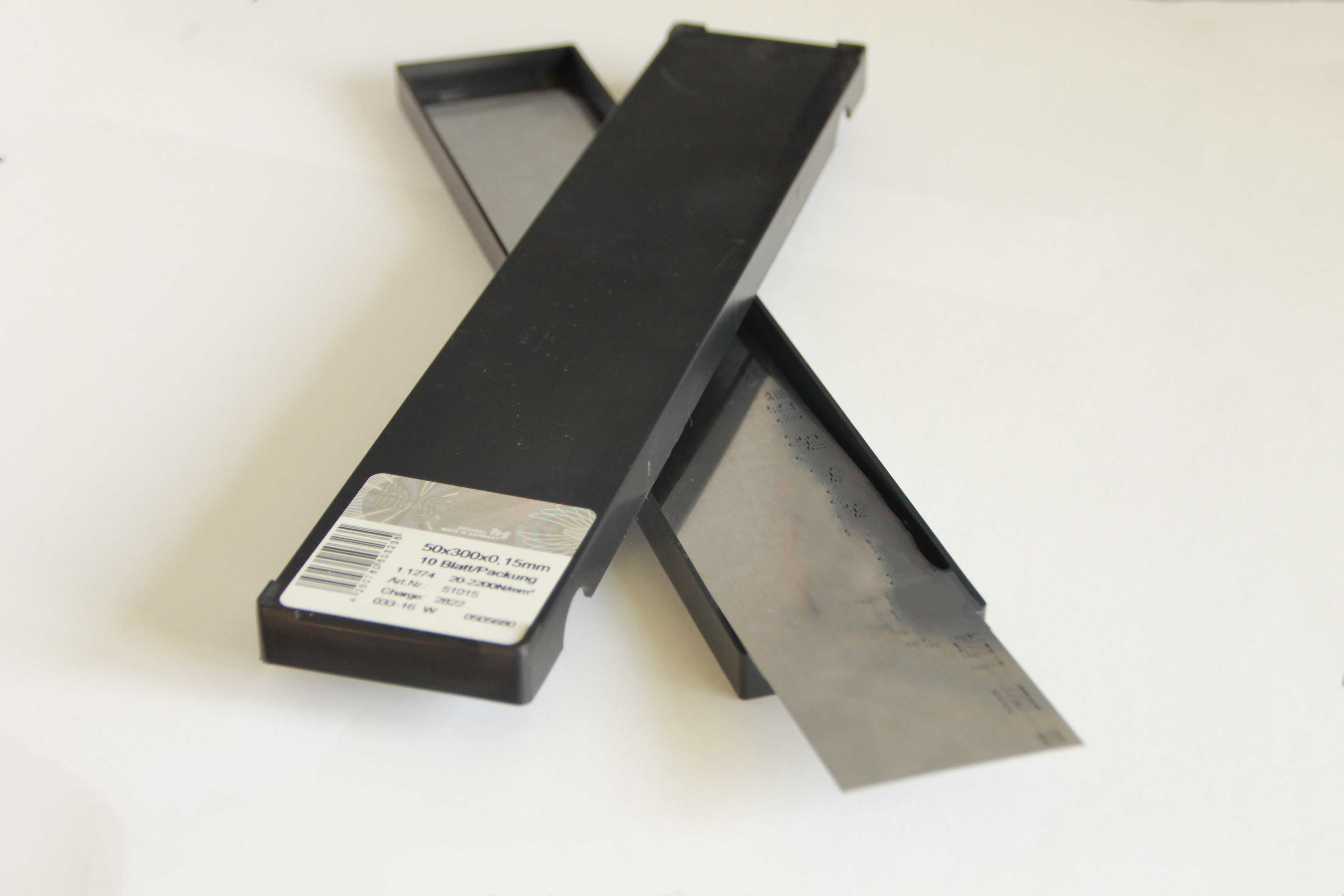 Precision gauge strips aisi 301 clinq inox feuil for Feuille inox a coller